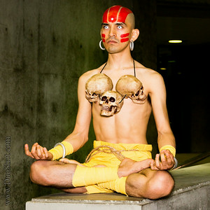 Dhalsim Cosplay