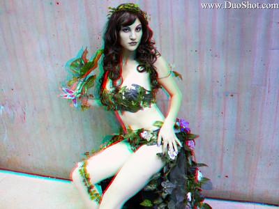 Dana as Poison Ivy