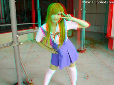 Jenny Lee as Schoolgirl Asuka
