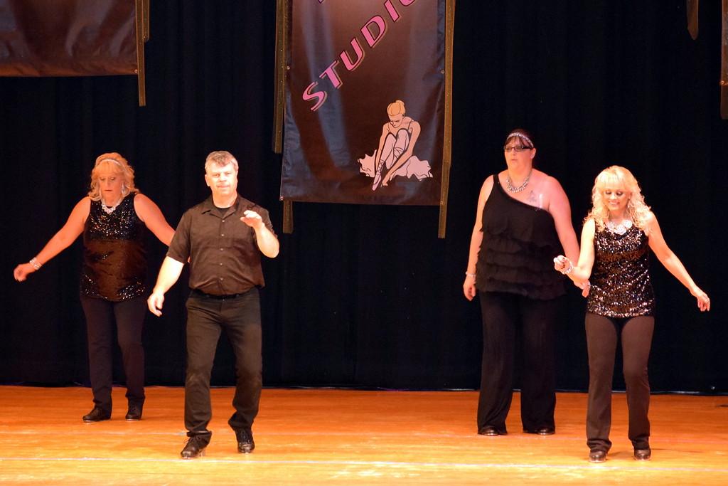 ". Dancers perform to \""Single Ladies\"" at Durante\'s Dance Studio\'s spring recital Saturday, June 10, 2017."