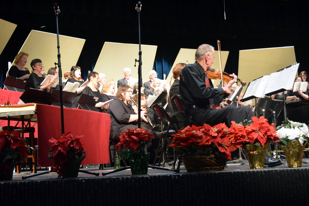 ". The Master Chorale performs ""Rise, O People, and Bring Good News\"" at their 26th Noel Christmas Concert Sunday, Dec. 10, 2017."