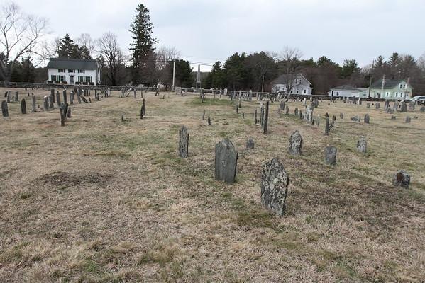 Riverside Cemetery - Parke / Dorrance / Kasson headstones
