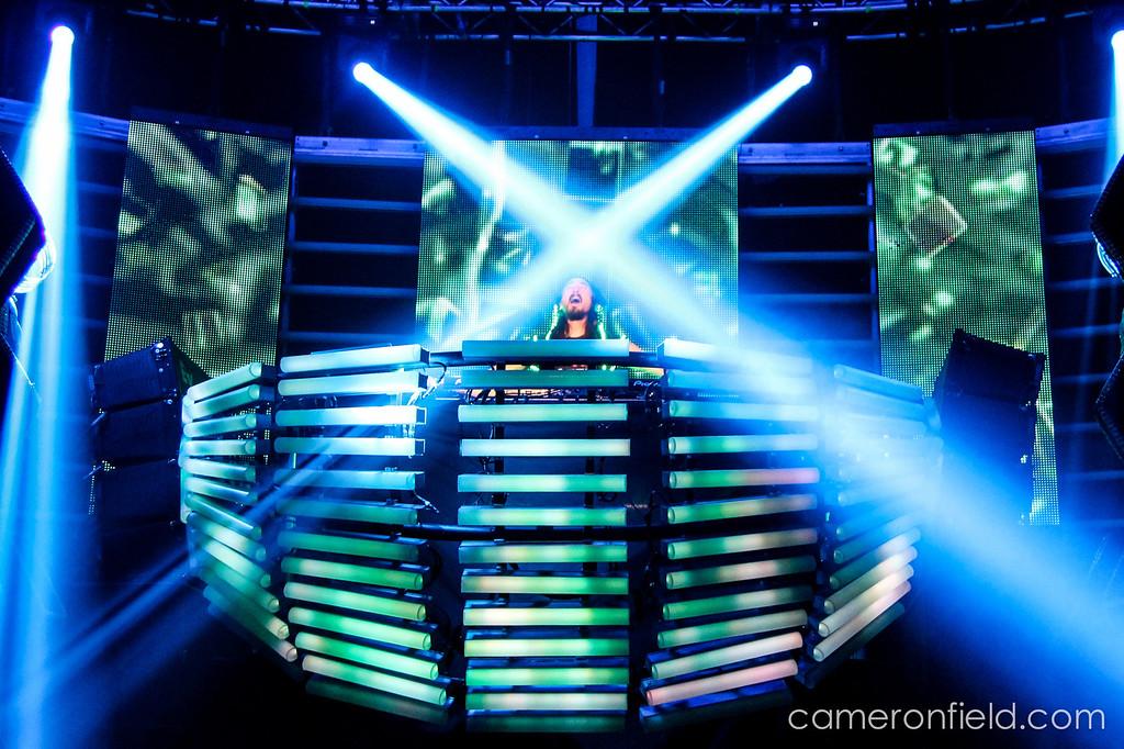 Steve Aoki - Austin Music Hall - 2013