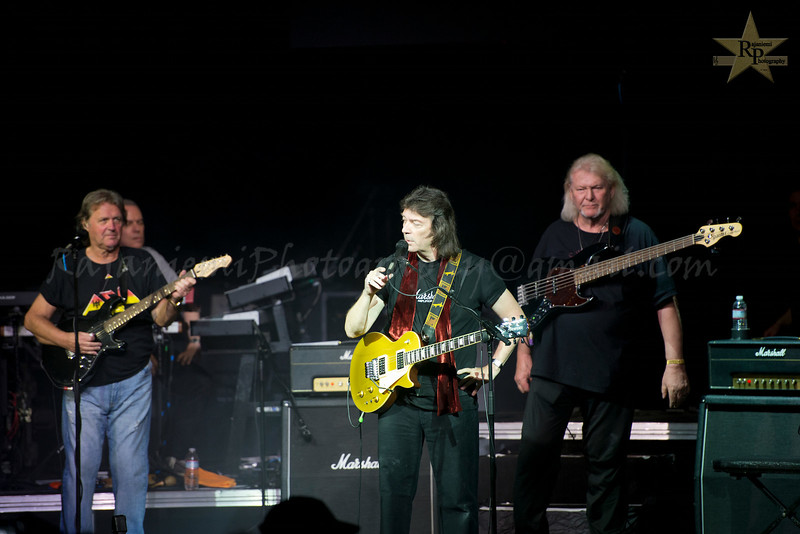 John Wetton and Chris Squire with Genesis Revisited
