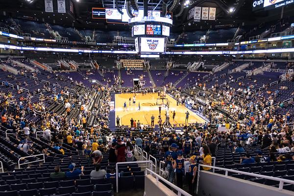 Steve Kerr Warriors at Suns April 5, 2017
