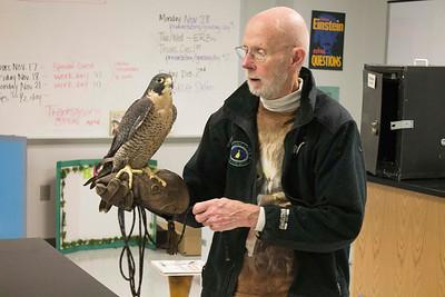 Steve Longenecker Visit (Bird of Prey)