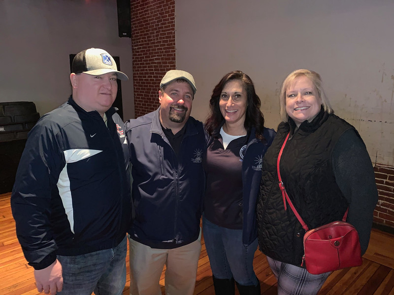 From left, Dan Dupras, Lee Gitschier, Janine Lafond and Kim Burleigh, all of Lowell