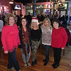 From left, Karen LaFlamme of Dracut, Georgia Dragoumanos of Tyngsboro, Suzanne McCarthy of Lowell, Pam Gikas of Chelmsford and Edna Panagiotakos of Lowell