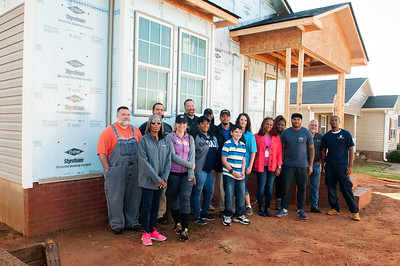 Steve Smith Family Foundation Habitat For Humanity Build Concord 10-24-17 by Jon Strayhorn