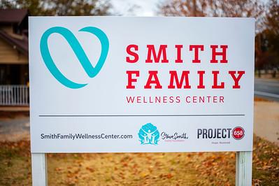 Smith Family Wellness Center Dedication Ceremony 11-28-16 by Jon Strayhorn
