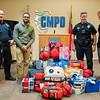 Steve Smith Family Foundation Donation To CMPD Emergency Needs Fund 1-5-17 by Jon Strayhorn
