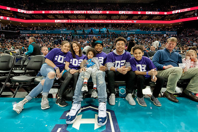 Steve Smith Night @ The Charlotte Hornets 3-10-18 by Jon Strayhorn