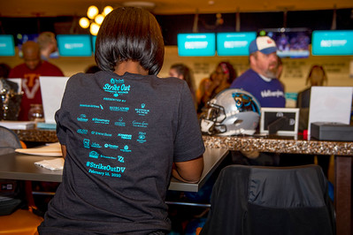 Steve Smith Strike Out Domestic Violence Bowling Event @ Ten Park Lanes 2-15-20 by Jon Strayhorn