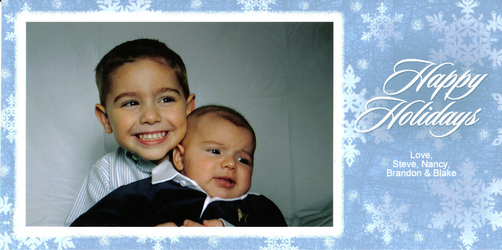 Brandon, Blake, Christmas, 2004