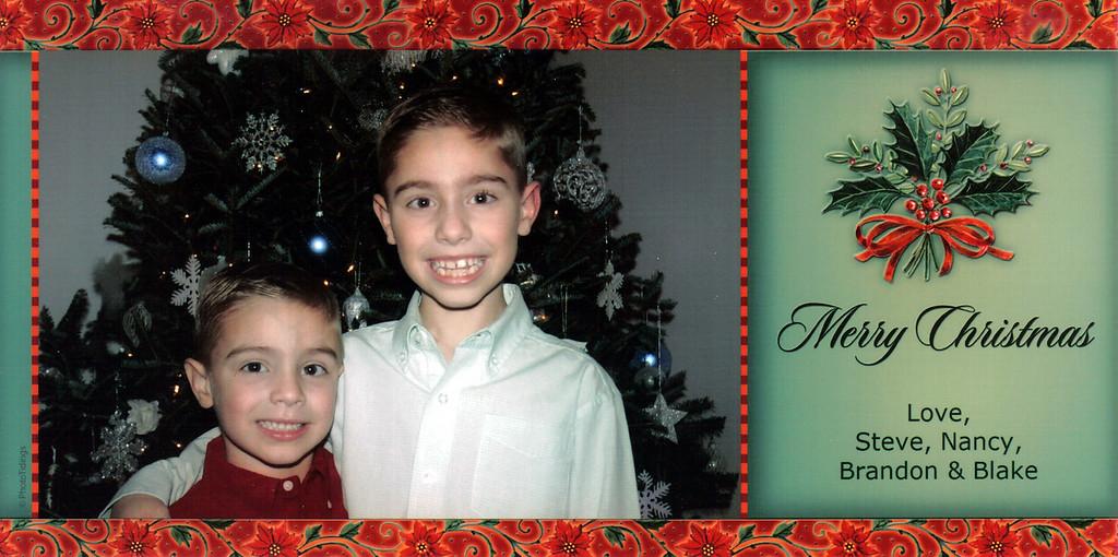 Brandon, Blake, Christmas, 2009