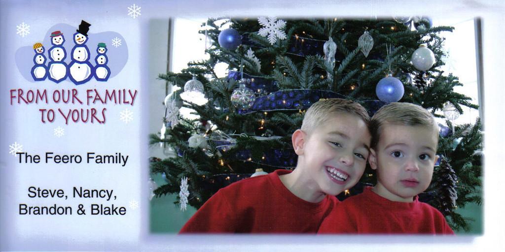 Brandon, Blake, Christmas, 2006