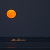 Moonrise from Cedar Rocks, Duxbury