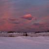 Winter Sunset at Duxbury Beach