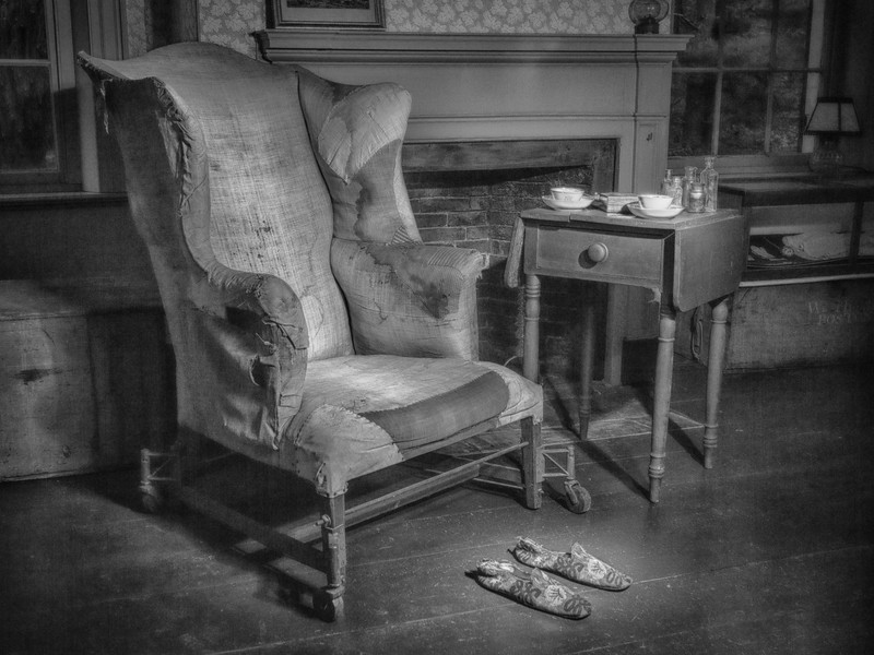 Elizabeth's Chair at the Bradford House