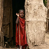 Maasai Child (and Chicken)