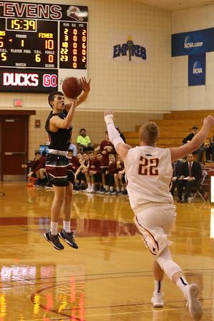 Stevens Basketball v St John Fisher 180119