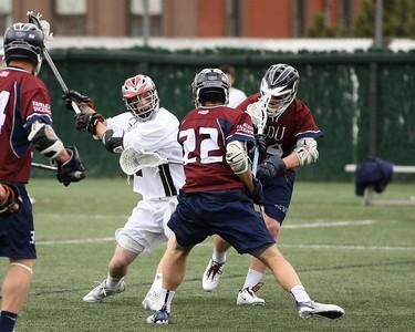 Stevens Men's Lacrosse v FDU March 24 2012