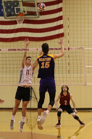 Stevens Volleyball v Hunter 180408