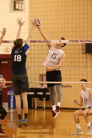 Stevens Volleyball v Rivier 180203