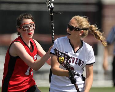 Stevens Women's Lacrosse v Bridgewater State May 11 2011