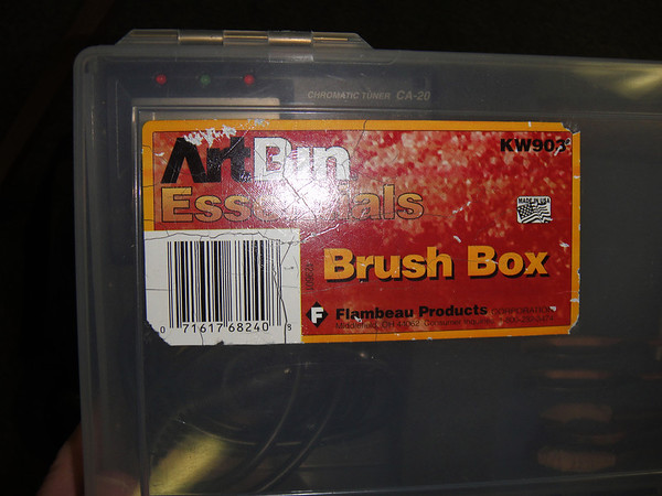 "I have found these artist brush boxes to be the best bet for storing hammers.  Check out the next couple of pictures to get an idea of how well they work.  I don't stock these boxes, just search ""Artbin KW903"" and you will find several sources."
