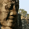 Face sculpture (probably of Jayavarman VII)