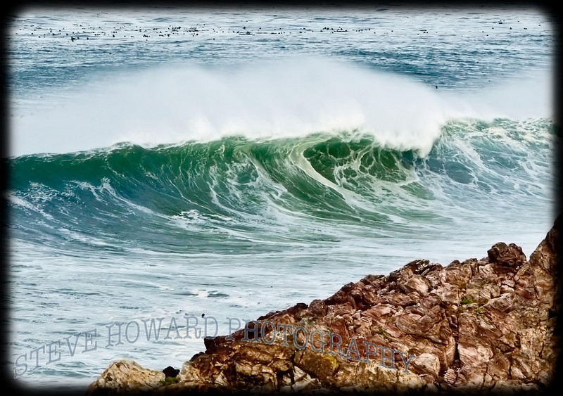 Big Sur Rock and Wave
