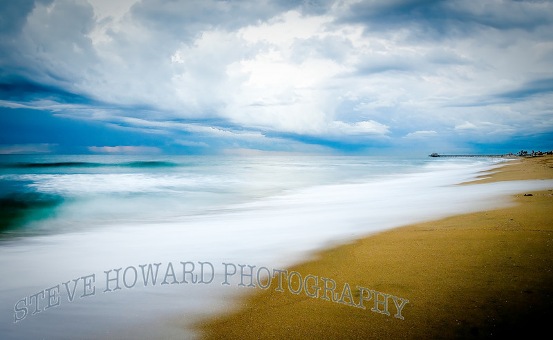 Stormy Newport Strand