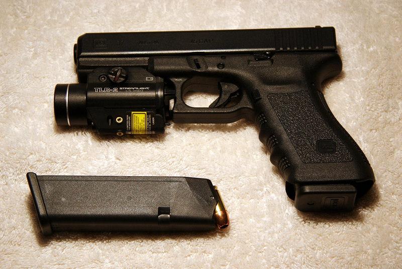.45 Glock w/TAC Light