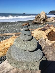More rock piles