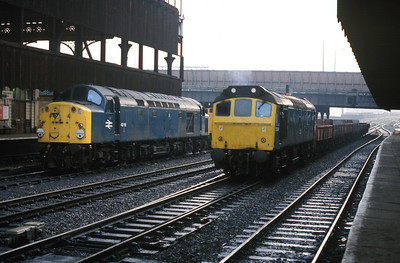 Manchester Victoria with 40118
