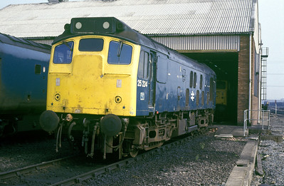 Class 25 No 25224 at Healey Mills