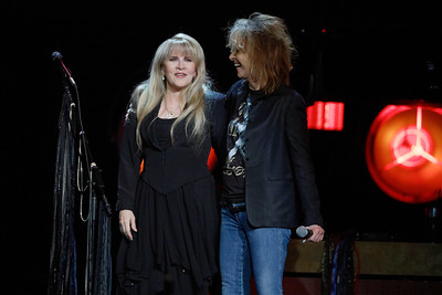 Stevie Nicks and Chrissie Hynde  live at The Palace of Auburn Hills, in Auburn Hills, Michigan  on 11-27-16.  Photo credit: Ken Settle