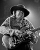 Stevie Ray Vaughan performs at the Oakland Coliseum Arena on December 3, 1989.