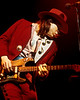 Stevie Ray Vaughan performs at the Warfield Theater in San Francisco on November 24, 1984.