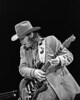 Stevie Ray Vaughan performs at the Greek Theater in Berkeley, CA on October 11, 1985.