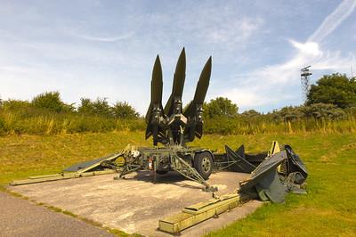 Hawk battery ready for launch