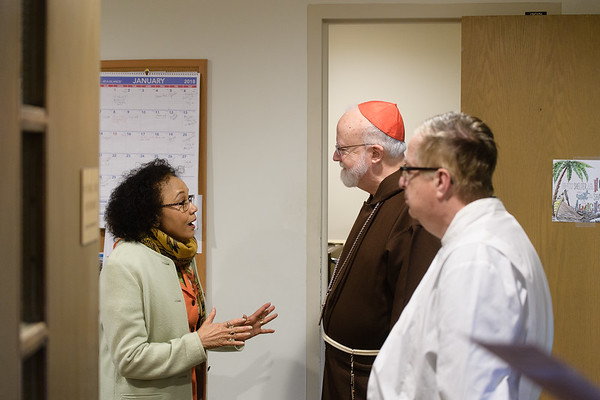 GOOD SAMARITAN CARDINAL O'MALLEY VISIT 2018