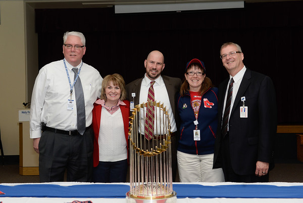 RED SOX TROPHY AT HF AND MV - 051514