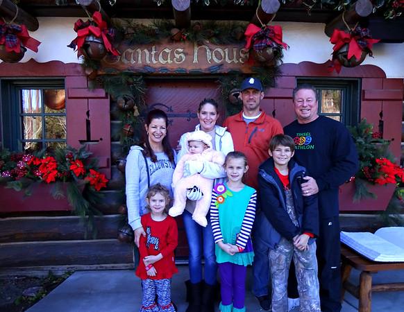 Stewart Family Christmas 2017 Visit to Lake Arrowhead