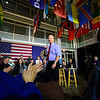 KRISTOPHER RADDER — BRATTLEBORO REFORMER<br /> Democratic presidential candidate businessman Tom Steyer holds a town hall at Keene State College, in Keene, N.H., on Thursday, Feb. 6, 2020.
