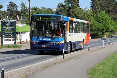 Stagecoach Highlands 20925 B870 at Colylumbridge 2 May 12