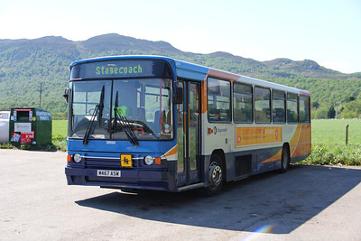 Stagecoach Highlands 20594 Newtonmore Lorry Park 2 May 12