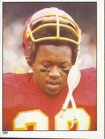 Clarence Harmon 1981 Topps Stickers
