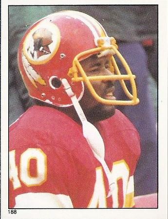 Wilbur Jackson 1981 Topps Stickers